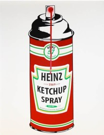 Mr Brfauinwach Heinz Ketchup Spray