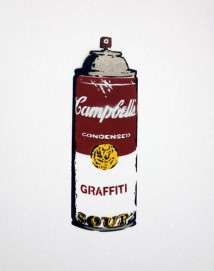 Rene Magnons Campbell´s Graffiti Spray